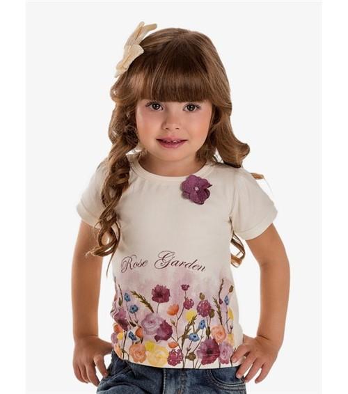 Baby Look Pau a Pique Infantil Rosa ROSA - 01