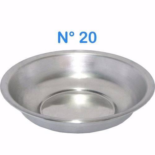 Bacia de Alumínio para Roupa Multiuso N° 20 Capacidade 850 Ml