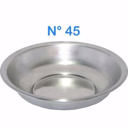 Bacia de Alumínio para Roupa Multiuso N° 45 Capacidade 8,5 LITROS