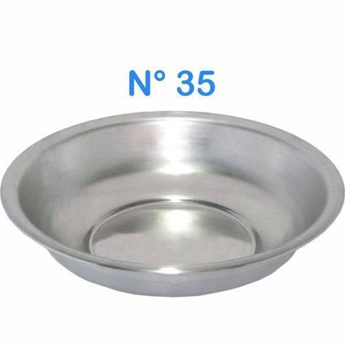 Bacia de Alumínio para Roupa Multiuso N° 35 Capacidade 5 LITROS