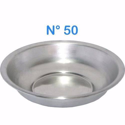Bacia de Alumínio para Roupa Multiuso N° 50 Capacidade 12,5 LITROS