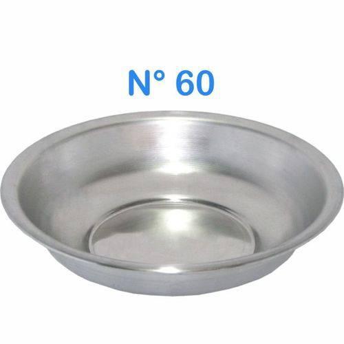 Bacia de Alumínio para Roupa Multiuso N° 60 Capacidade 18 LITROS