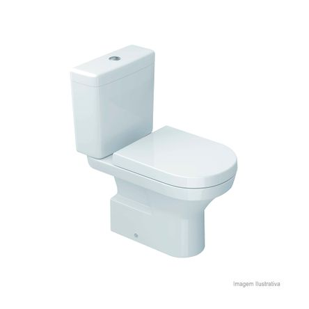 Bacia para Caixa Acoplada Level Branco Deca