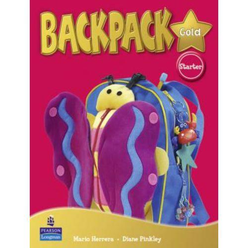 Backpack Gold Starter - Student's Book - Pearson - Elt