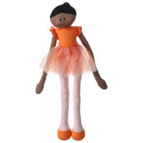 Bailarinda Boneca Laranja/multicor