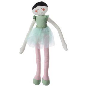 Bailarinda Boneca Verde Claro/multicor