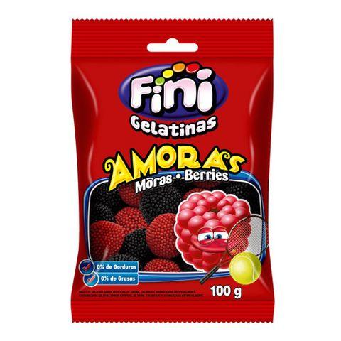 Bala de Gelatina Amoras 100g - Fini