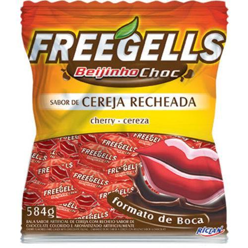 Bala Freegells 584gr Choc Cereja