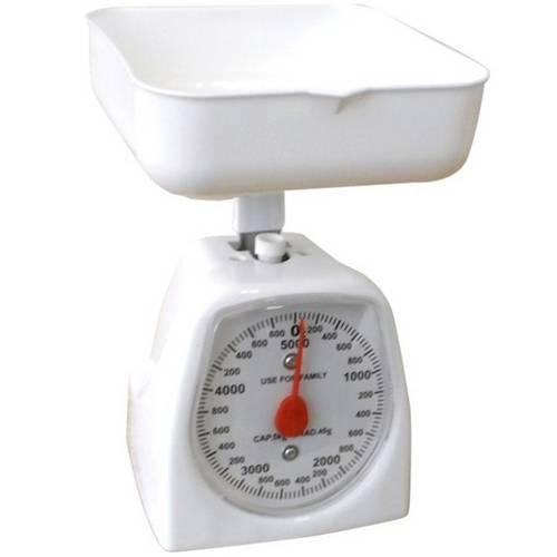 Balança Analógica para Cozinha 5kg com Tigela 1115 - Malta