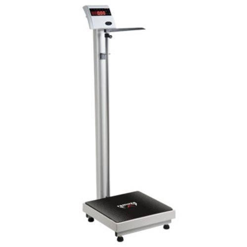 Balança Antropométrica - Modelo Dp - Led Vermelho - (capacidade 200kg/50g) - Ramuza - Cód. Dp 200kg/50g