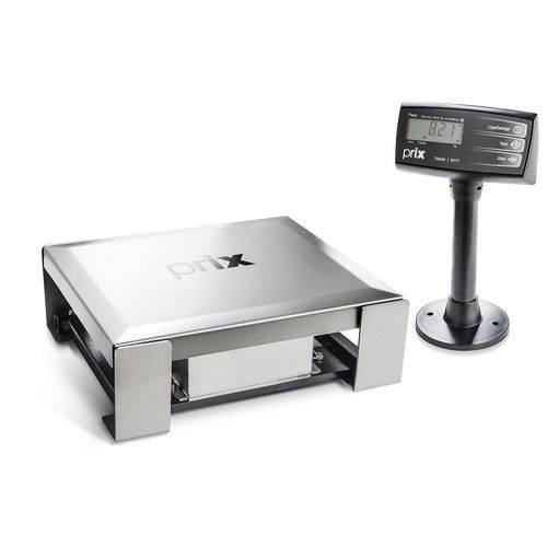 Balança Checkout Toledo Prix 8217 30kg X 5g Sem Leitor Conexão Serial
