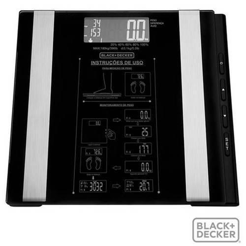 Balança com Painel Digital Bk55 - Black Decker