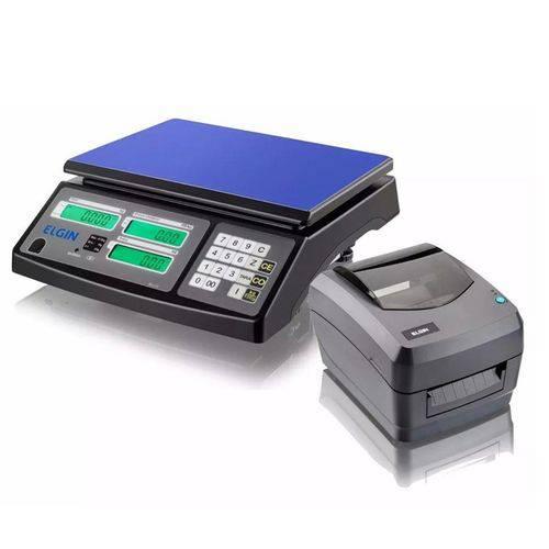 Balança Computadora Sa-110 + Impressora de Etiquetas L42 - Elgin