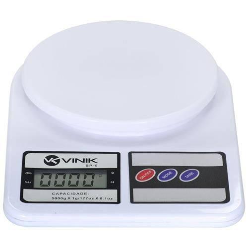 Balança de Precisão de Cozinha Até 5kgs - Bp-5 Vinik