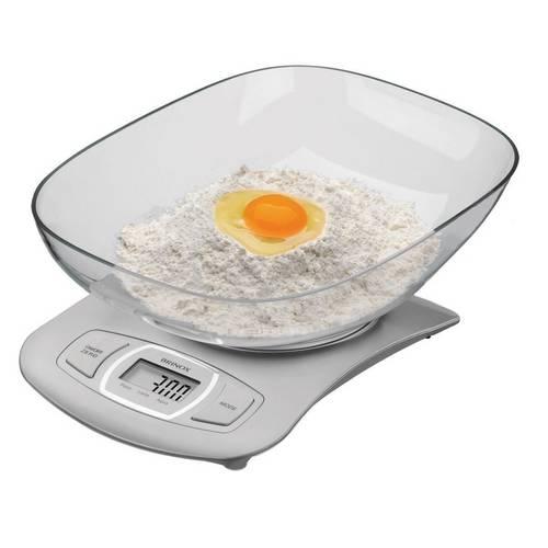 Balança Digital com Recipiente para Cozinha 5kg 2922/100 - Brinox