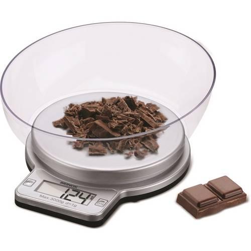 Balança Digital com Recipiente para Cozinha 3kg 2922/101 - Brinox