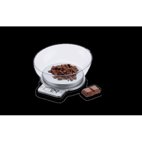 Balança Digital com Recipiente para Cozinha 3 Kg - Balanças 20 X 18 X 8 Cm