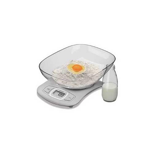 Balança Digital com Recipiente para Cozinha