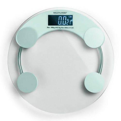 Balança Digital de Vidro Eatsmart Multilaser HC039