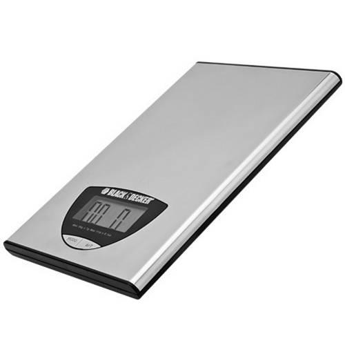 Balança Digital para Cozinha Bc Inox Black Decker Tigela