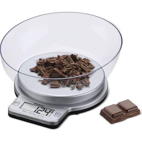 Balança Digital para Cozinha com Recipiente Até 5kg