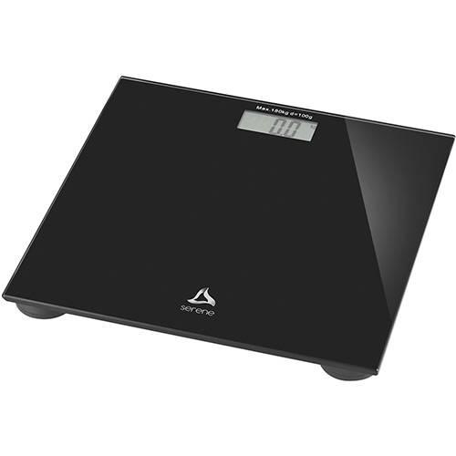 Balança Digital Serene Digi-Health HC022 180kg - Preta