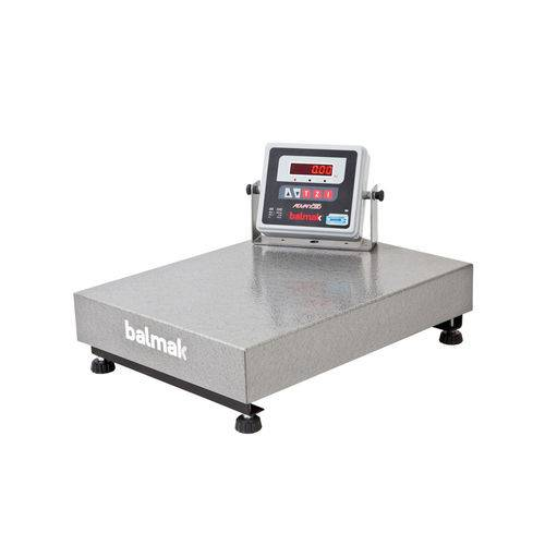 Balança Eletrônica 300 Kg Balmak Plataforma 40 X 55 Cm