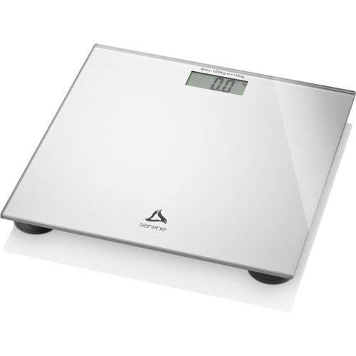 Balanca Eletronica Digi-health LCD Ate 180k Prata Multilaser