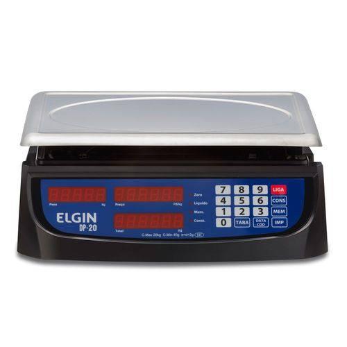 Balança Elgin Dp 20 20kg com Bateria
