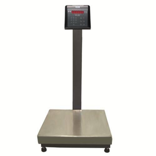 Balança Industrial Plataforma em Aço Carbono Ramuza DPB 300 Capacidade 300kg, Base: 50x50cm, IDR de