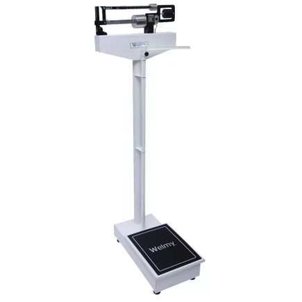 Balança Médica Antropométrica Mecânica 150kg - Welmy - 110 CH