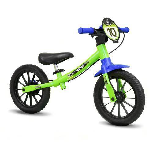 Balance Bike Infantil Nathor Verde