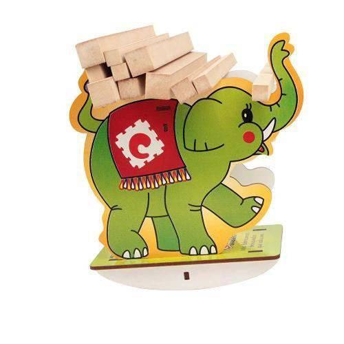 Balancinho Elefante em Mdf 1893 - Carlu - Caixa Papel