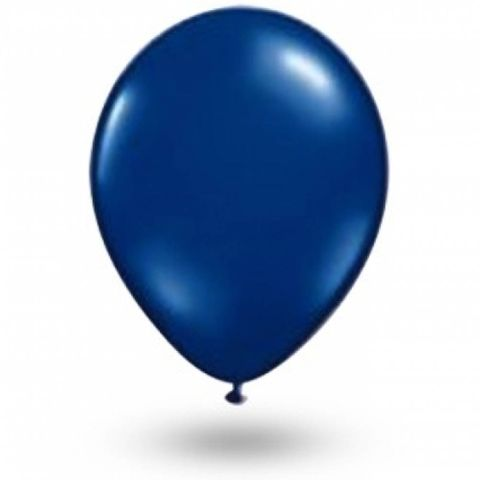 Balão Azul Cobalto Tamanho 7 C/50 - São Roque