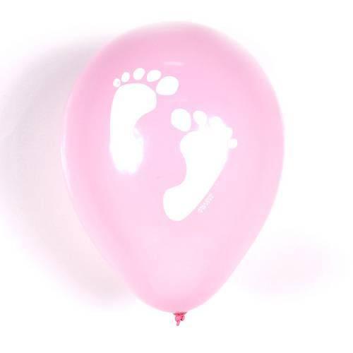Balão Balloontech Pezinho Rosa Nº 10 C/25un
