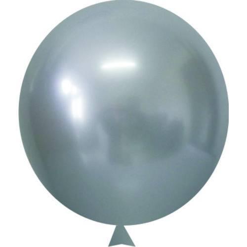 Balão/bexiga Happy Day Cromado Alumínio N5'' | 250 Unidades