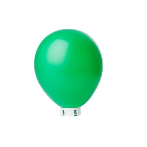 Balão Bexiga Lisa Verde Bandeira Nº 9 - 50 Unidades