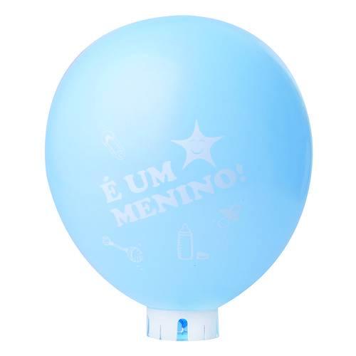 Balão   Bexiga Nº11   Chá de Bebê Azul ''É um Menino!''   C/25