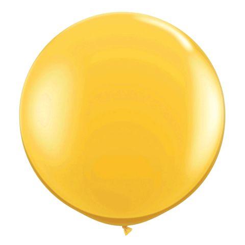 Balão Big Ball Amarelo Tamanho 250 - Pic Pic
