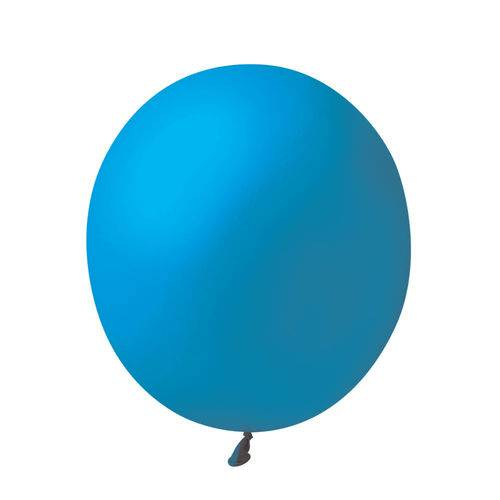 Balão Big Super Azul Cobalto São Roque