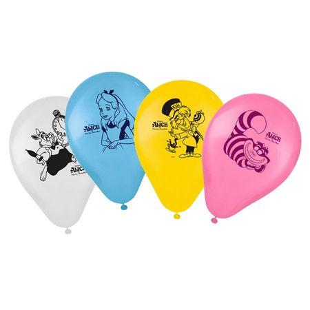 Balão de Látex Alice no País das Maravilhas