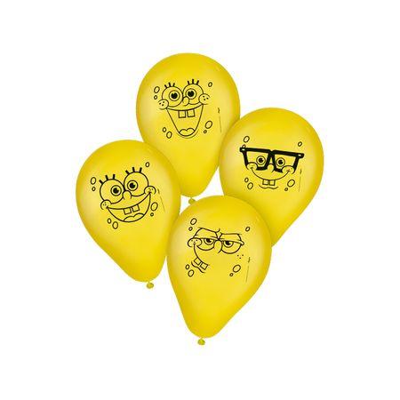 Balão de Látex Bob Esponja - 25 Unidades