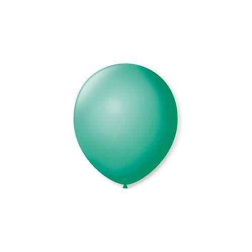 Balão de Látex Liso Tiffany 9 Polegadas com 50 Un.