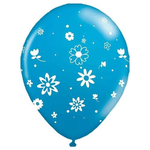 Balão de Látex Margaridas Sortidas 10? com 25 Unidades Balloontech