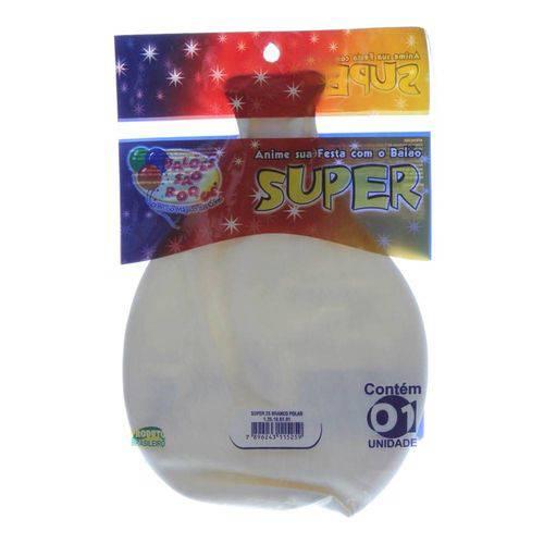 Balão de Látex Super Branco São Roque
