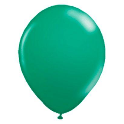 "Balão de Látex Verde Bandeira 9"" com 50 Unidades Balloontech"