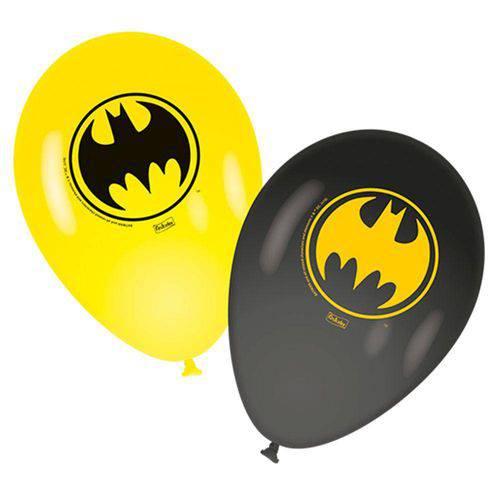 Balão Festcolor Nº9 Batman C/25 Unidade