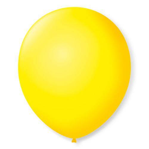 Balão Imperial Número 7 Amarelo Citrino São Roque