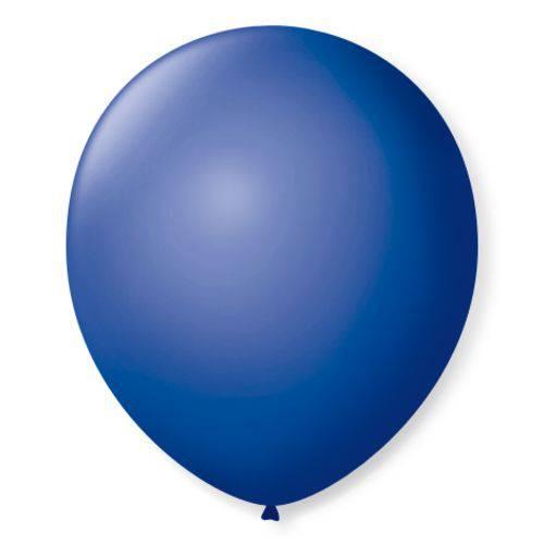 Balão Imperial Número 7 Azul Cobalto São Roque