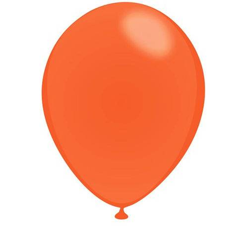 Balão Laranja Mandarim Tamanho 7 C/50 - São Roque